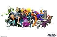 Fusion Fall 2010 Gang by Xendyl