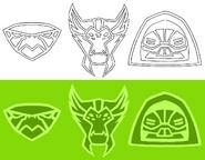 Tj Collins Ben 10 Omniverse - Omnitrix Icons (2)