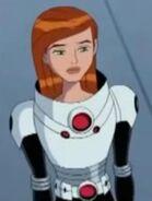 Gwen traje de plomero