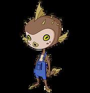 Alien kid