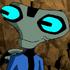 Brain frog character