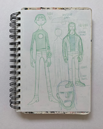 Ben Tennyson, Kevin Levin and Car Concept Art by Glen Murakami