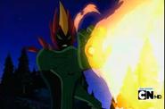 Fogo Selvagem atirando fogo