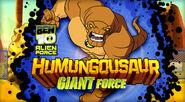 B ben10af humungousaur giant force