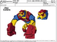 Bloxx Model Sheet
