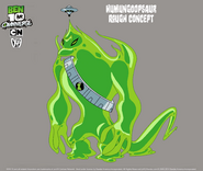 Humungoopsaur Concept Art by Tom Perkins