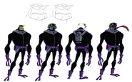 Bullfrag Disguise Model Sheet