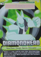 Diamondhead Bandai Card
