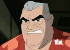 Abuelo Max enojado