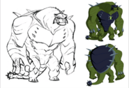 Ultimate Humungousaur Art
