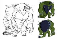 Ultimate Humungousaur Art