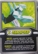 Diamondhead Cereal Card