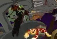 Fuego atrapado bicho volgax