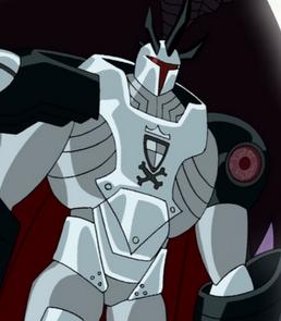 Tabber de Driscoll com a armadura na Série Original