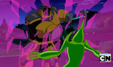 559px-Robot Techadon amarillo destruyendo el escudo de Gwen!