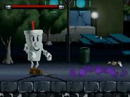 Mr. Smoothie (jugable) Vilgax Attacks DS