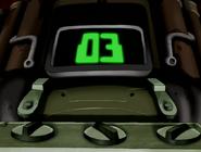 Bomba del doctor animo en cuenta regresiva de 03 segundos en ben 10 el secreto del omnitrix