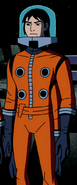 Kevin Orange Spacesuit