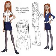 Gwen AF Concepts by Glen Murakami