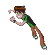 Ben OV teen action pose 12