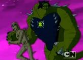 Enormossauro Supremo correndo ao lado de Kevin