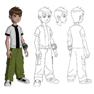 UA Young Ben Model Sheet
