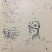 Ragnarok y Otto arte conceptual