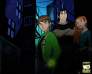 Ben 10 alien force - ben, kevin & gwen wallpaper