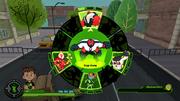 Ben 10 (Reboot) videojuego pantalla de aliens