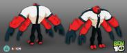 Ben 10 Video Game Four Arms