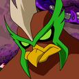 Kickin hawk character