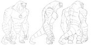 Humungousaur Turnaround
