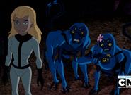Eunice junto a Haplar y su familia