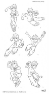 Ben action poses 1