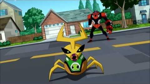 Ben 10 Omniverse Ball Weevil Transformation HD (1080p)