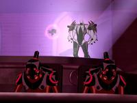 Vilgax y sus robots buscando a six six 3