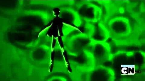 Ben 10 Ultimate Alien - Alien X Transformation