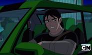 Kevin en el auto