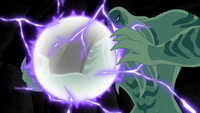 Vilgax crea una gran esfera de poder EPDF