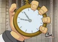 Ben con el reloj de subliminal