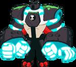 Enhanced Four Arms Art