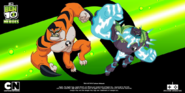 Ben 10 Heroes Rath and Shock Rock