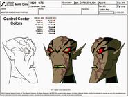 Kundo's Head Model Sheet