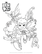 CartoonNetwork ColoringPages Ben10