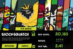 Shocksquatch alien unlock