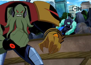 Vilgax vs diamante