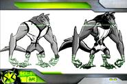 Benwolf Blitzwolfer Transformation Model Sheet pt2