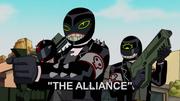 Gangue de Rojo em A Aliança
