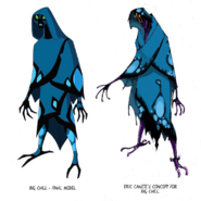 Big Chill Final Design and Concept Art by Eric Canete Comparison