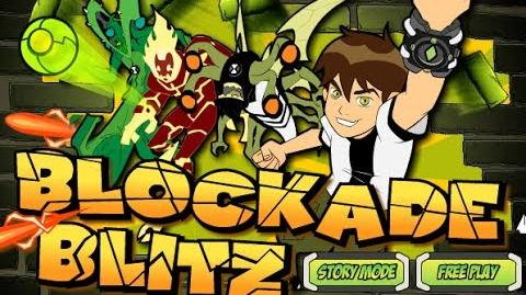 Ben 10 - Blockade Blitz - Gameplay (Story Mode)